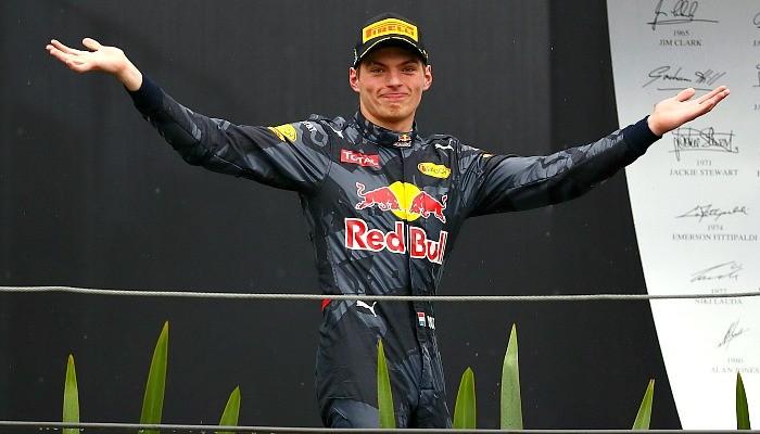 Max Verstappen no GP do Brasil