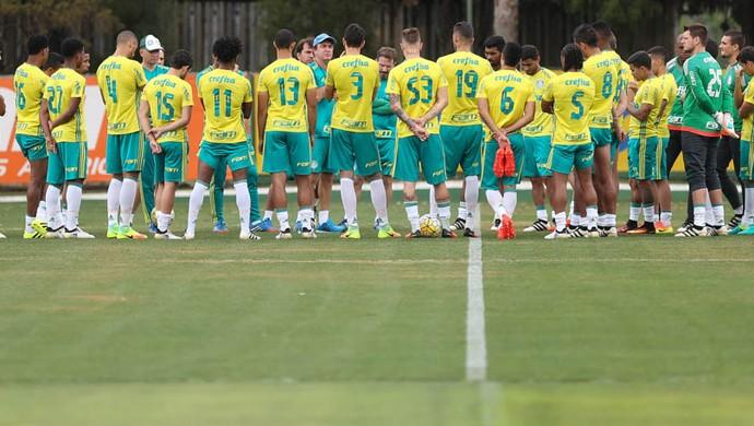 Elenco Palmeiras (Foto: Cesar Greco/Ag. Palmeiras/Divulgação)