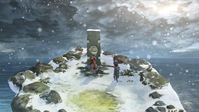 I am Setsuna tem um visual que lembra Bravely Default (Foto: Divulgação/Steam)