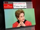 'É hora de Dilma ir', diz revista 'The Economist'