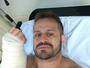 """Maldonado, sobre acidente: """"Tive medo de perder o movimento da mão"""""""