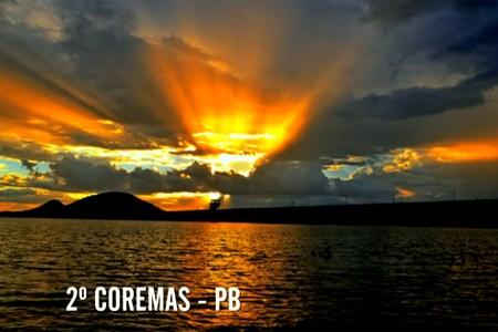 pordosol_Coremas (Foto: reproducao tv)