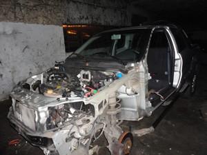 Compra de peças roubadas estimula o crime, segundo a polícia (Foto: Divulgação/Polícia Civil)