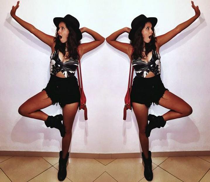 A atriz estreante está no ar como a Nanda de 'Malhação - Seu Lugar no Mundo' (Foto: Arquivo pessoal)