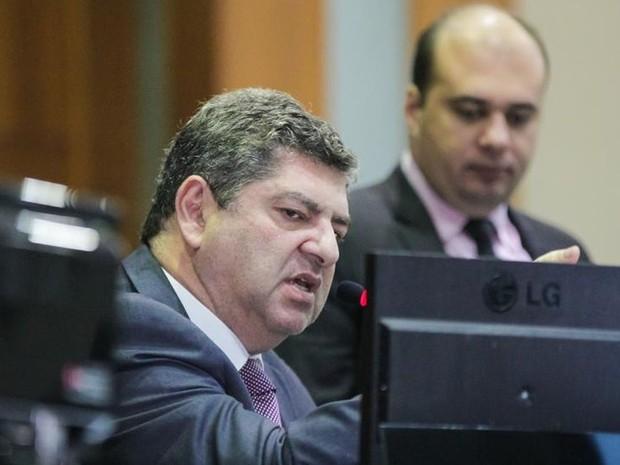 Guilherme Maluf (PSDB), presidente da Assembleia Legislativa de Mato Grosso (Foto: Marcos Lopes/ AL-MT)