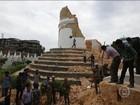 Terremoto deixa mais de 1,4 mil mortos no Nepal