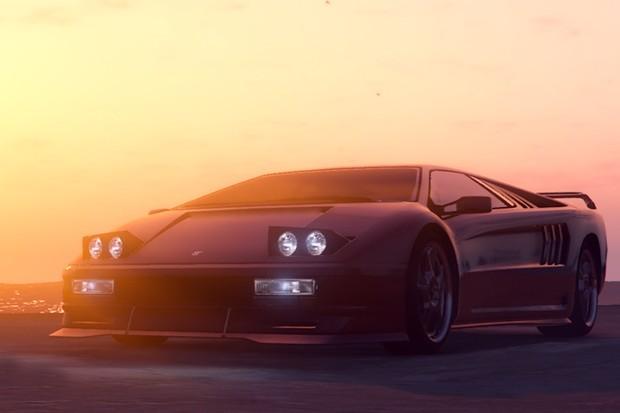Pegassi Infernus é cópia descarada do Lamborghini Diablo (Foto: Divulgação)