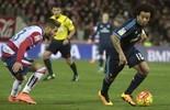 Real confirma lesão, e Marcelo desfalca o Real Madrid contra Roma (EFE)