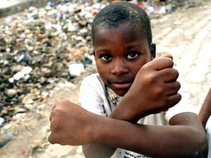 Dia a dia na região onde os militares de Campinas atuam na Missão de Paz do Haiti (Foto: Lana Torres/G1)