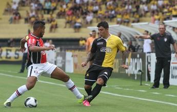 """PC gosta de início do Joinville, mas lamenta gol sofrido no """"ponto forte"""""""