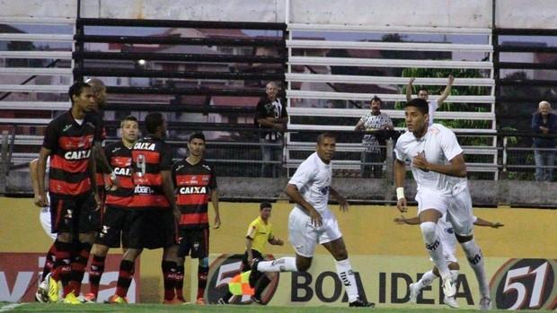 Lincom Bragantino x Atlético-GO (Foto: Fábio Moraes/ Divulgação)