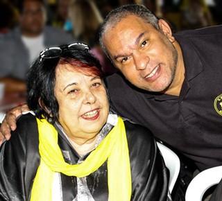 Rosa Magalhães e Renato Gomes (Foto: Reprodução/Reprodução)
