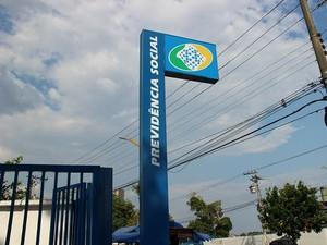 Atendimentos foram retomados no INSS-Manaus (Foto: Rickardo Marques/G1 AM)