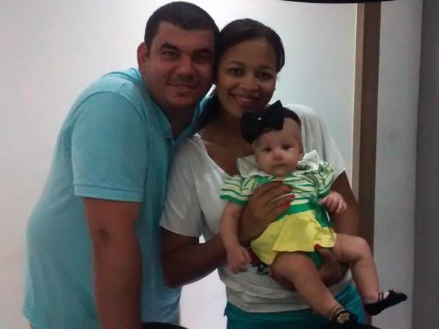 Família vai torcer junta em casa, diz a mãe Líliam Assis (Foto: Líliam Assis / Arquivo Pessoal)
