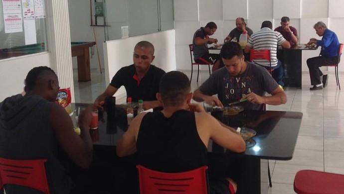 Concentração Campinense (Foto: Divulgação / Campinense)