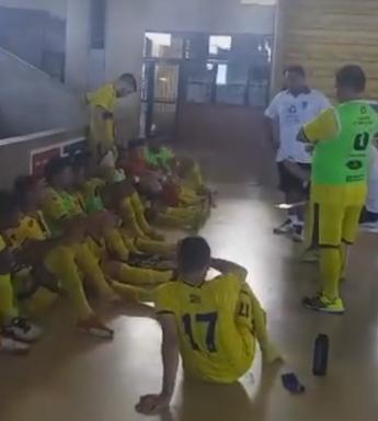 Parma na Liga Nordeste de futsal  (Foto: Reprodução/Parma TV )