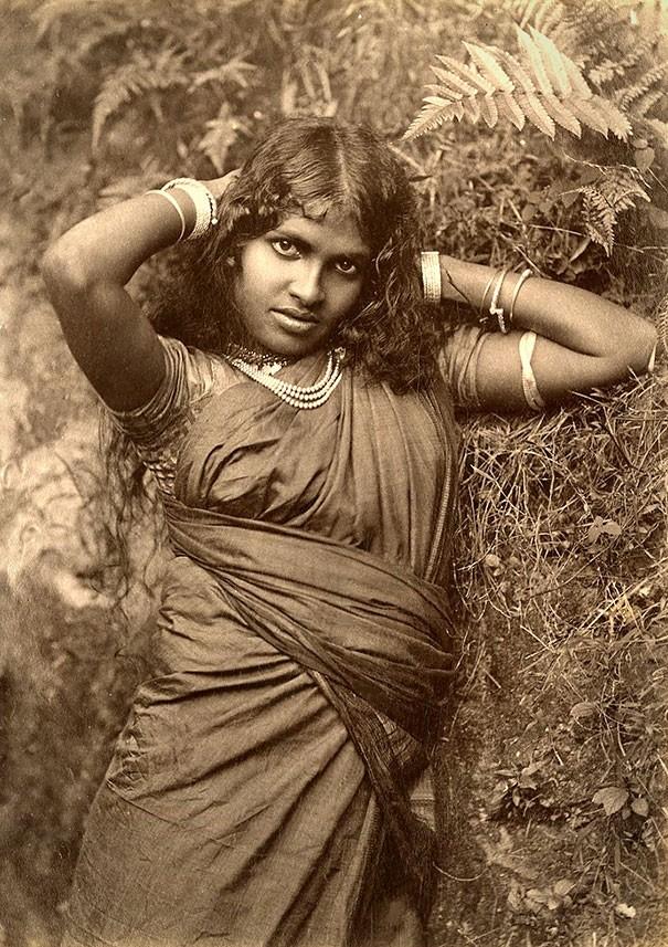 Jovem tâmil, povo que vive no Sri Lanka (Foto: Flickr)