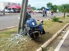 Motociclista e pedestre envolvidos em acidente em Regente Feijó morrem
