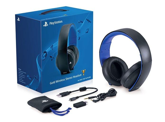 Headset PlayStation Gold (Foto: Divulgação/Sony)