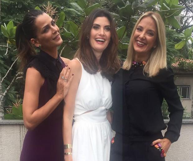 Fernanda Motta, Isabella Fiorentino e Ticiane Pinheiro (Foto: QUEM)