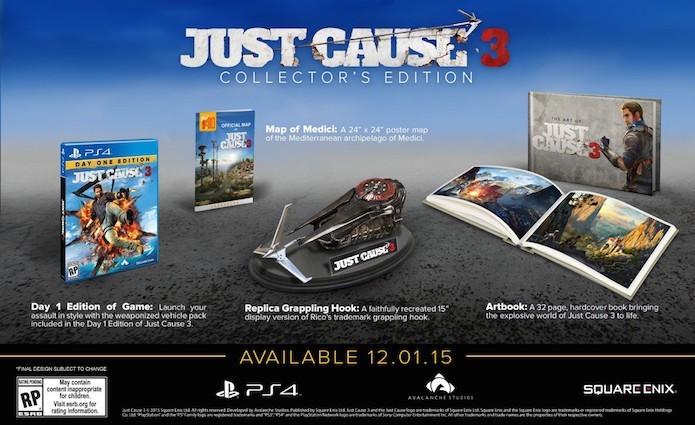 Just Cause 3: versão de colecionador luxuosa é anunciada (Foto: Reprodução)