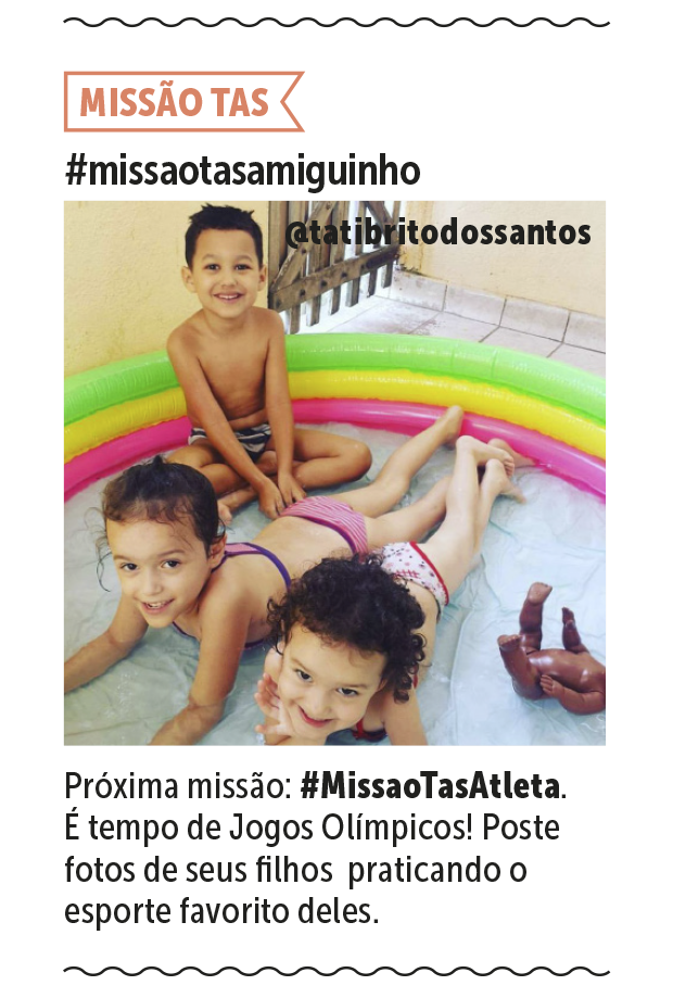 Missão Tas (Foto: Arquivo pessoal)