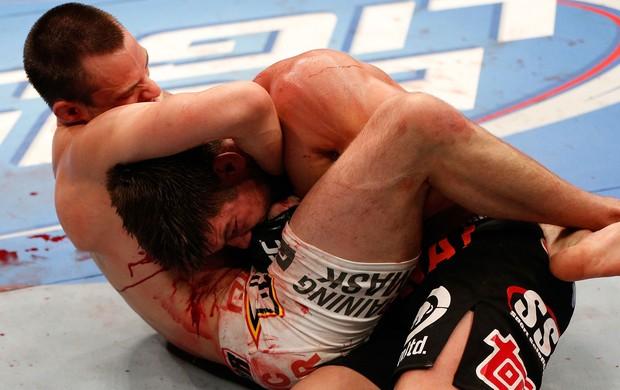 James Krause x Sam Stout UFC 161 (Foto: Getty Images)