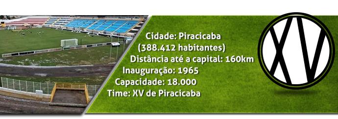 Header, estádio, Barão de Serra Negra, XV de Piracicaba (Foto: Arte / Eduardo Teixeira)