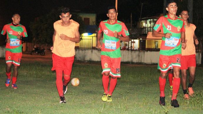 Real-RR busca calibrar equipe com jogos amistosos e treinos em campo reduzido (Foto: imagem/Tércio Neto)