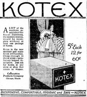 Kotex (Foto: Reprodução)