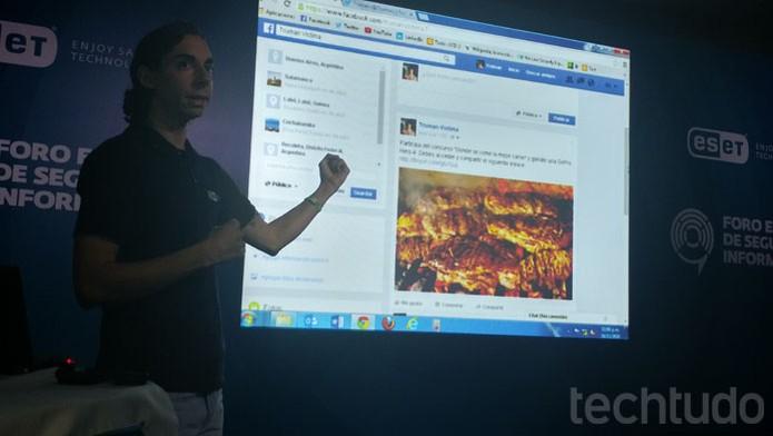 Post no Facebook atrai vítimas com suposto cupom de rodízio grátis para phishing (Foto: Melissa Cruz / TechTudo)