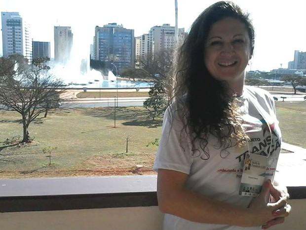 Deborah comemora a medida, inédita no Enem (Foto: Reprodução/ Facebook)