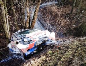 Kubica sofre mais um acidente (Foto: Reprodução/twitter)