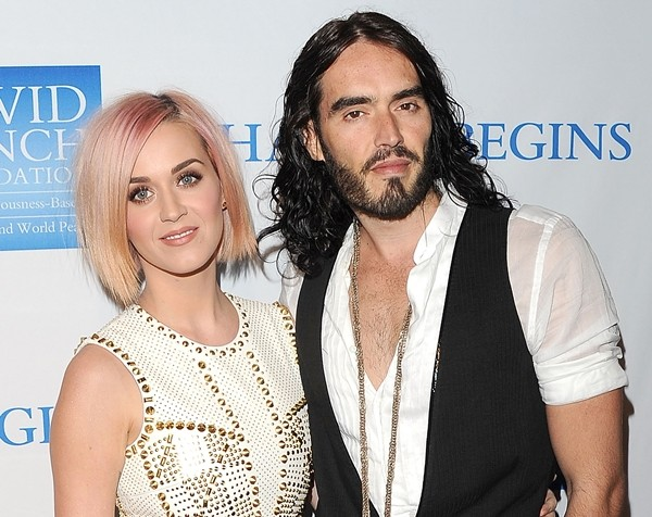 Katy Perry e Russell Brand em 2011 (Foto: Getty Images)