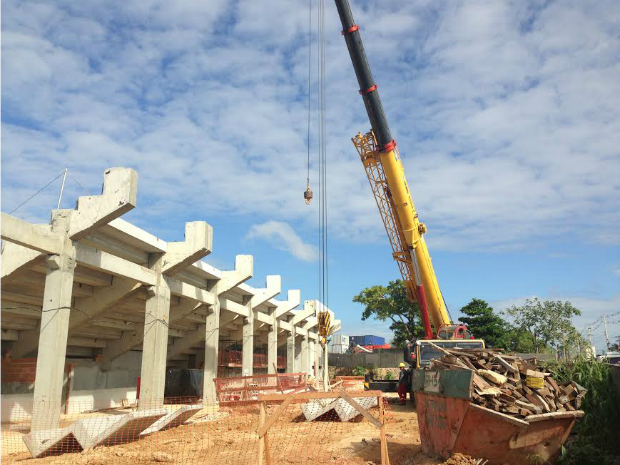MPT retornou às obras no CT do Coroado (Foto: Divulgação/MPT)