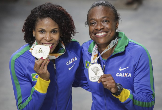 atletismo Fabiana Moraes e Maila Paula (Foto: Wagner Carmo / CBAt)