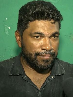 Índio Ferreira, Internacional-PB (Foto: Reprodução / TV Paraíba)