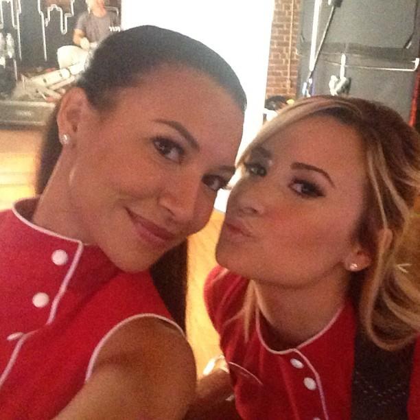 Naya Rivera e Demi Lovato (Foto: Instagram/ Reprodução)