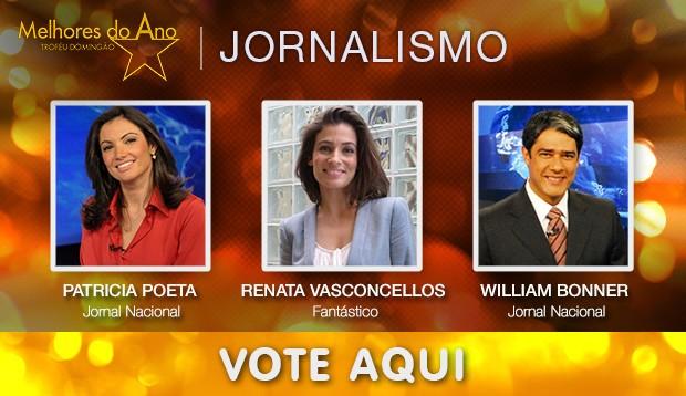 Jornalismo (Foto: Domingão do Faustão/Tv Globo)
