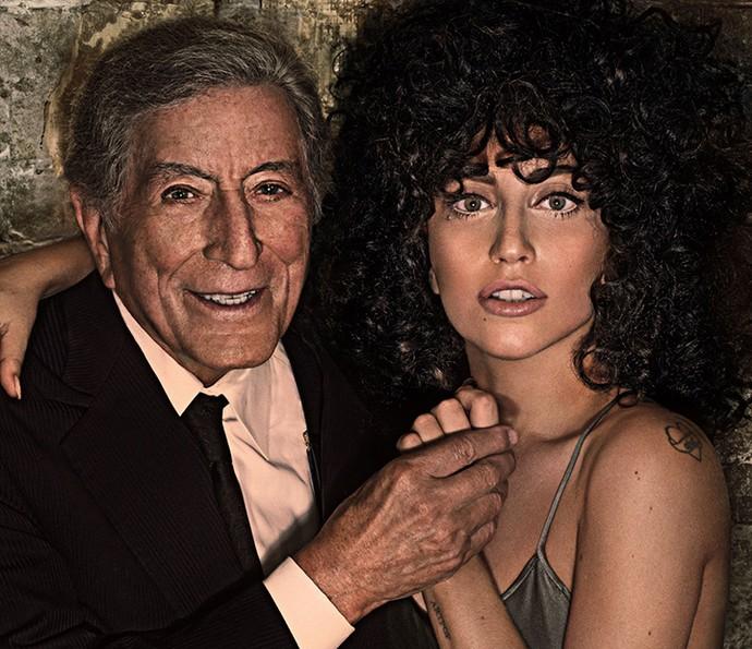 Lady Gaga provou que não é só uma popstar, mas uma cantora quando se juntou a Tony Bennett (Foto: Divulgação)