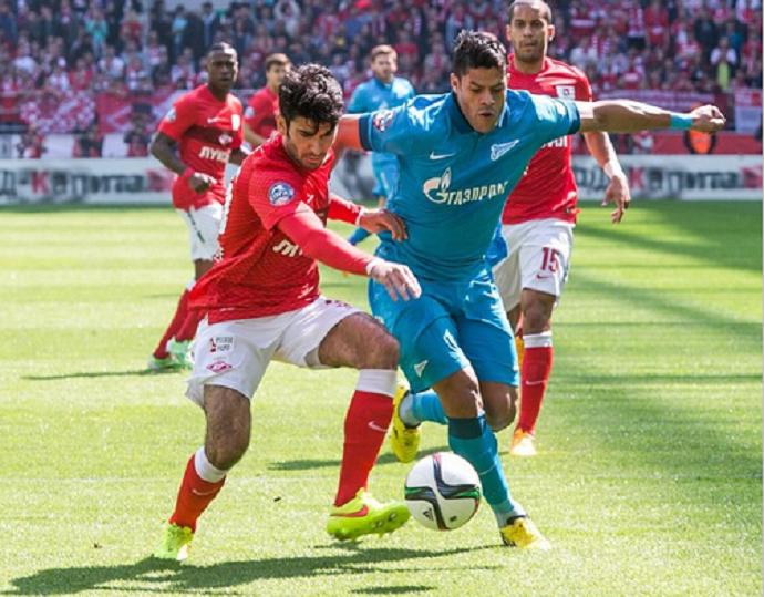 Hulk Zenit x Spartak (Foto: Reprodução/Instagram)