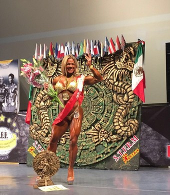 Dora competição (Foto: Divulgação/Arquivo Pessoal)