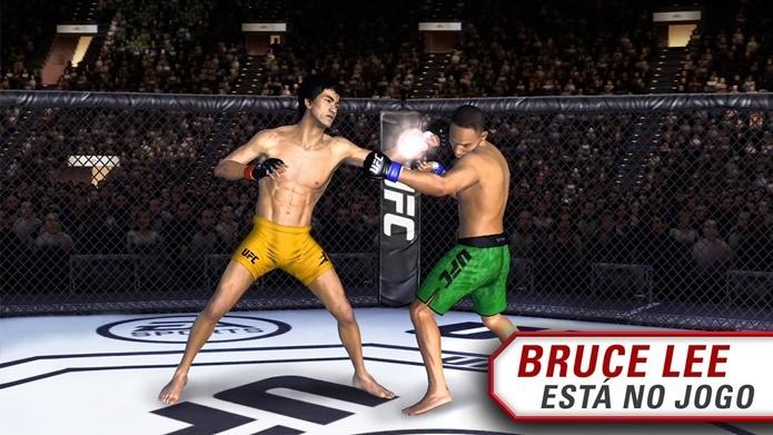 Jogue com Bruce Lee em UFC no celular (Foto: Divulgação / EA)