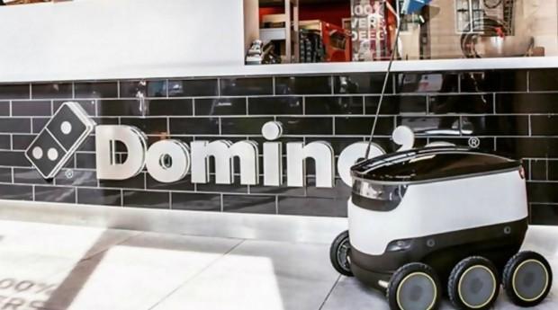 Robo, dominos, pizza (Foto: Divulgação)