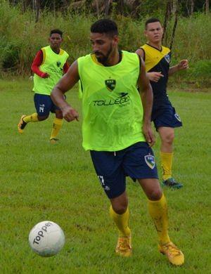 Alesson Henrique retorna ao Rondoniense para temporada 2017 (Foto: Alexandre almeida/ arquivo pessoal )