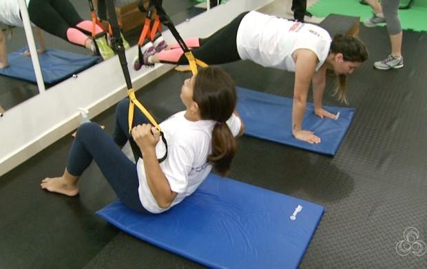Pessoas optam por exercícios desenvolvidos no treino funcional (Foto: Roraima TV)