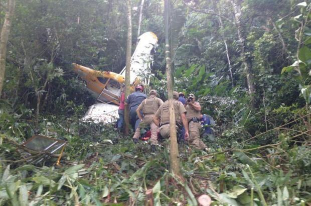 Piloto foi encontrado com vida, mas morreu (Foto: Arcanjo/Divulgação)