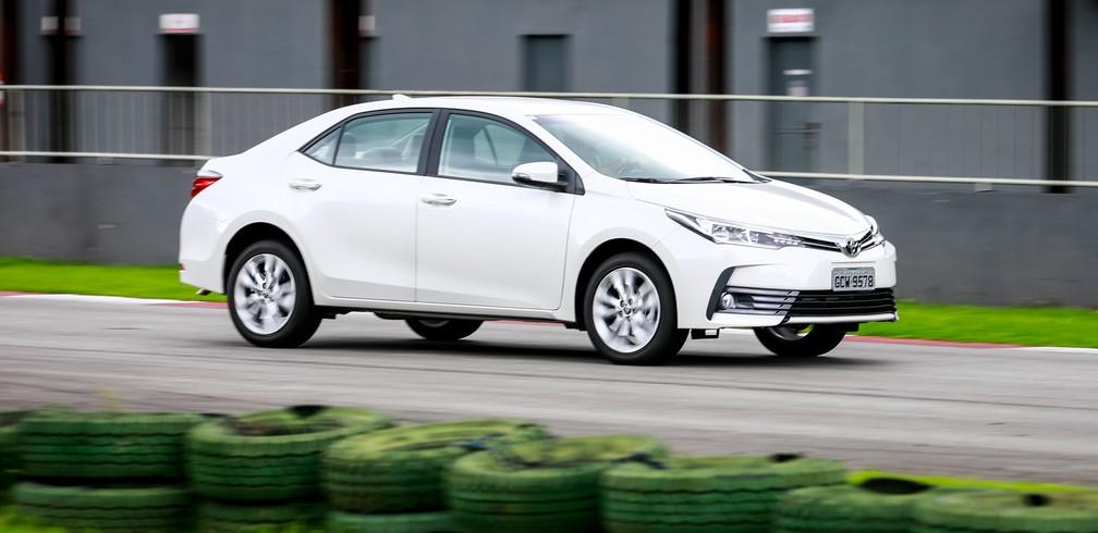 Toyota Corolla 2018 Primeiras Impress 245 Es Auto Esporte G1