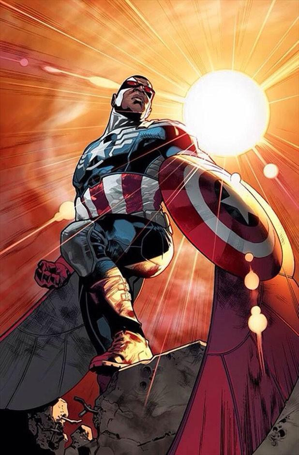 Marvel surpreende e anuncia Capitão América negro