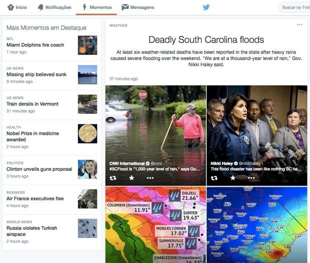 Twitter Moments será lançado para aplicativos e navegadores (Foto: Divulgação)